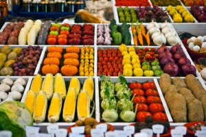 Produce At A Farmers Market